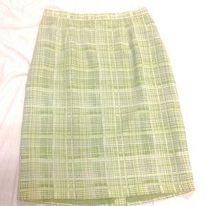 Sag Harbor Moss Career Skirt Size 14